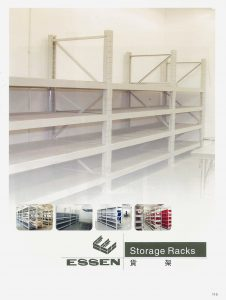 Storage Racks Section